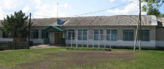 Школа села Старое Суркино