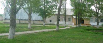 СОШ в селе Ташелка Верхнесусканского филиала